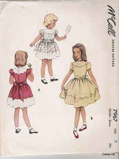 Sewing Vintage: Vintage Childrens Patterns