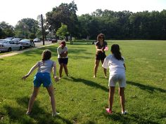Water balloons on a hot day? Yes please!