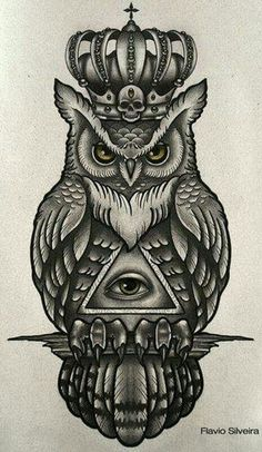 35 Traditional Owl Tattoo Meaning - 35 Traditional Owl Tattoo Meaning tattoo drawing paintings search result at paintingvalley simple - Tribal Owl Tattoos, Leg Tattoos, Body Art Tattoos, Sleeve Tattoos, Tattos, Owl Tattoo Drawings, Tattoo Sketches, Tattoo Owl, Hawk Tattoo