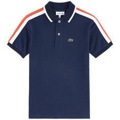 Lacoste T-shirts : Children T-shirts T Shirt Lacoste, Mens Polo T Shirts, Kids Fashion, Polo Ralph Lauren, Boys, Mens Tops, Badminton, Collection, Tennis