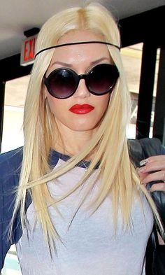 Gwen Stefani with rope headband