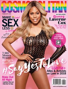 Laverne Cox Makes History As Cosmopolitan's First Transgender Cover Girl | HuffPost