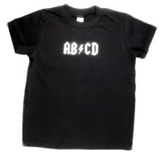 ABCD Rocker Tshirt. $19