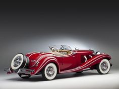 $3.8 Million Vintage 1937 Mercedes 500 K Roadster Stolen in WWII Heading Back to Rightful Owners