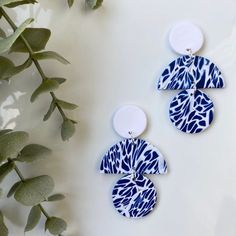 Clay Projects, Clay Crafts, Paper Crafts, Handmade Beads, Handmade Polymer Clay, Diy Earrings Polymer Clay, Ottawa Ontario, Clay Ideas, Jewelry Trends