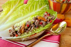 "These Indian-spiced lettuce wraps, also known as ""Bengali Beef Boats,"" earned top honors in our recent Ground Beef recipe contest.  It is a healthy and exotic twist on traditional tacos for mealtime. Keep reading to see this healthy and innovative recipe!  I love the combination of heat and sweet in these lettuce wraps.  The curry [...]"
