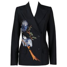 Alexander McQueen for Givenchy Couture blazer jacket from the Spring/Summer 1998 Collection.