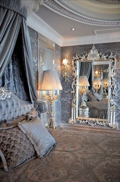 33 Luxury Bedroom Decor Ideas With French Style
