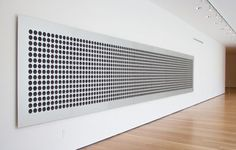 Microtonal Wall: 1,500 divisions of four octaves from C3 to C7, 2011, by Tristan Perich