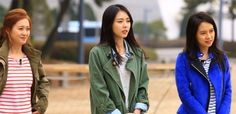 lee yeon hee and go ara running man2