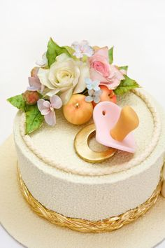 Welcome to the world cake by Alina Vaganova