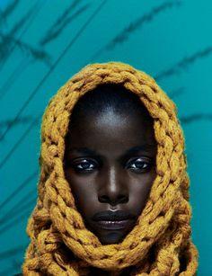 Model: Jeneil Williams | Photographer: Julia Noni