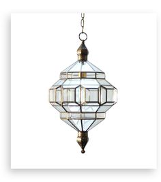 these glass lanterns are made in a generations-old workshop in granada, spain. each piece is hand forged, and reflects the influence of moorish design that can be observed throughout the region.
