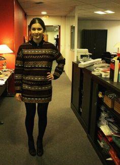 Office Style Andréa . (11/02/13)    Streetstyle Pop    Sweat Zara  Jupe Zara  Bottines Givenchy