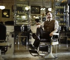 Since 1994 Tommy Guns has built an enviable reputation based on the look, heritage and quality of traditional English barber shops. The interiors, designed by owner Russell Manley, create a striking environment that blends heritage Barbershop influences, faux narratives and modern day craftsmanship.