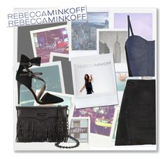 """""""•RebeccaMinkoff Polaroid Perfection •"""" by astriddt ❤ liked on Polyvore featuring Polaroid, Oliver Gal Artist Co., Rebecca Minkoff, rebeccaminkoff and contestentry"""