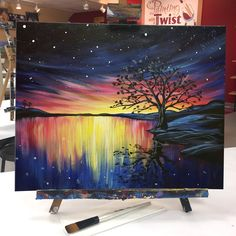 "Early sunsets mean we'll be here with  ""Cosmic Reflections.""   Find this event: https://pwat.art/2zSbJL9"