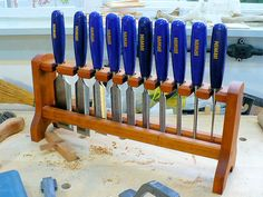 Chisel Rack - by FJPetruso @ LumberJocks.com ~ woodworking community