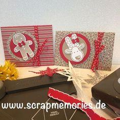 Home - Scrapmemories   Basteln in Ingolstadt   Stampin up, Stampinup, Framelits  Stempelset  Papier Band Kordel, Stampinup, Weihnachtskarte, Glückwunschkarte, inspire, create, share, fun, Spaß, Gutscheinkarte, Lebkuchenmännchen, Stanzer Lebkuchenmann, Ausgestochen Weihnachtlich, Technikkarte, Punch Board, Kuvert, Winterkatalog2016