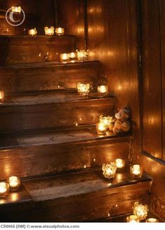 Candles. I want them everywhere... all over my house :)