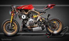 RocketGarage Cafe Racer: Alfa Romeo Birbante