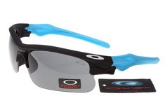 a61ae7945d4 Oakley Fast Jacket Sunglasses Blue Frame Grey Lens Onl