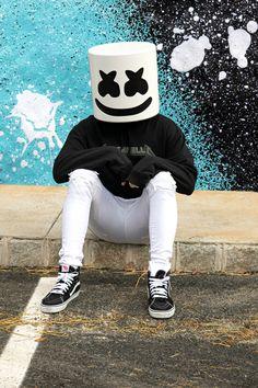 Supreme Iphone Wallpaper, Joker Iphone Wallpaper, Marshmallow Pictures, Marshmello Dj, Marshmello Wallpapers, Cute Black Wallpaper, Caribbean Art, Rap, Dope Wallpapers