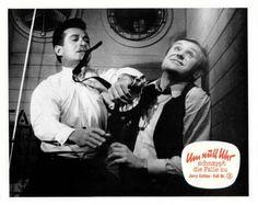 German lobby card set for' G-Man Jerry Cotton - Um Null Uhr Schnappt Die Falle Zu'