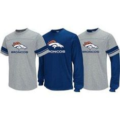 dc8080adf Free S H Denver Broncos NFL 2011 Reebok 3 in 1 T-Shirt Combo S