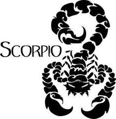 Scorpio... for my mom!