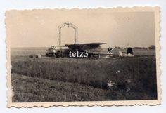 (w14) Russland Flugzeug Plane Bomber Ju88 ? Kennung Feld Reparatur in Sammeln & Seltenes, Militaria, 1918-1945   eBay