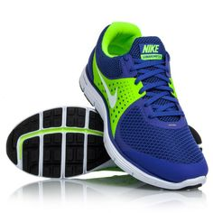 online store 8703c 7beb0 Nike Lunarswift+ 4 - Mens Running Shoes - Blue Green White