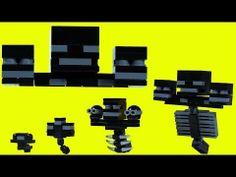 How To Build: LEGO Minecraft Wither - YouTube
