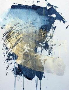 Image result for modern painting in blue