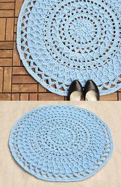 48 Best Tshirt Yarn Crochet Rugs Images In 2018 Crochet Mat T