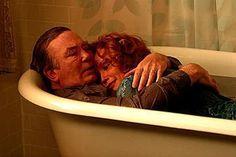 Still of Albert Finney and Jessica Lange in Big Fish