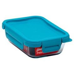 Pyrex Food Storage Container 2cup Turquoise