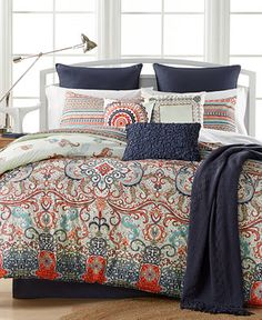 CLOSEOUT! Sorrel Reversible 10-Pc. Comforter Set, Only at Macy's - Bed in a Bag - Bed & Bath - Macy's
