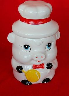 Love vintage cookie jars!