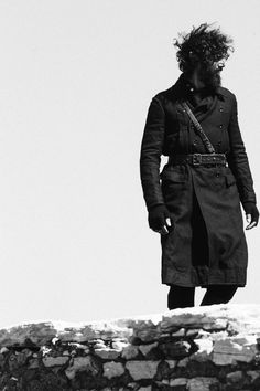 Paraskevas is Captured in the Rugged Outdoors for Dapper Dan