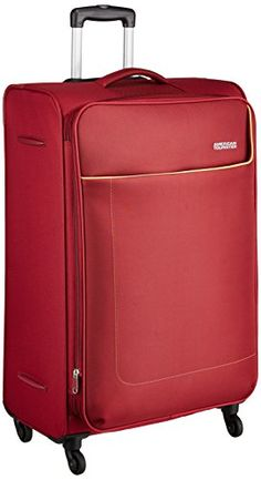15e861830 American Tourister Jamaica Polyester 80 cms Wine Red Softsided Suitcase  (27O (0) 70 003): Amazon.in: Bags, Wallets & Luggage