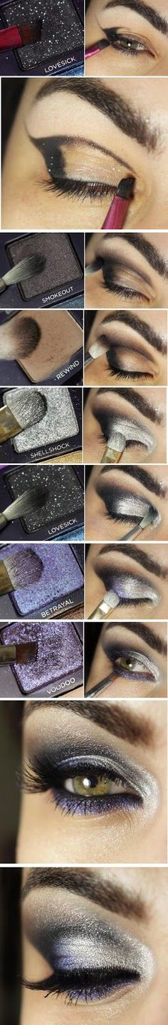Fabulous Powerful Metallic Makeup Tutorials / Best LoLus Makeup Fashion