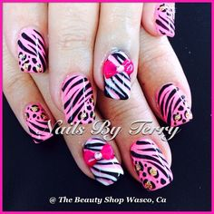 Instagram photo by thebeautyshopbyterry  #nail #nails #nailart