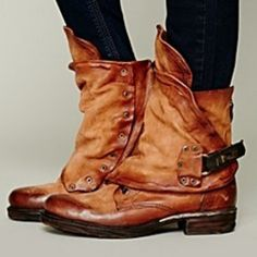 #as98 #Emerson #boots #leather #handcrafted #fashion #loveit Image from #freepeople