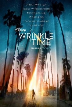 POSTER A Wrinkle in Time (Usa, 2018) Chris Pine, Reese Witherspoon - 1611A | eBay