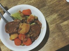 Ox tongue stew by my dad