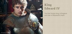 King Edward IV played by Max Irons. #TheWhiteQueen