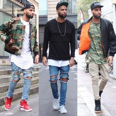Some Chill outfits ... Which one Is Your Fav ? @champaris75  #champaris