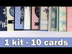 Step by step video on creating 10 cards, making the most out of the January 2017 card kit by SimonSaysStamp.com GIVEAWAY on my blog: https://goo.gl/IgIzx3 ——...