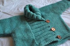 Ravelry: Ribbed Baby Jacket by Debbie Bliss